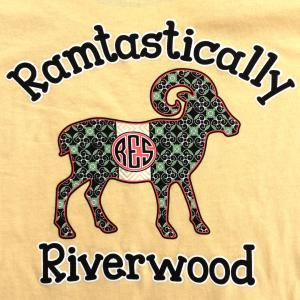 Riverwood Elementary Ram with pattern fill